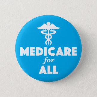 Assurance-maladie pour tout le bouton pin's