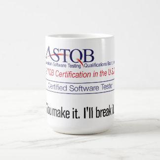 ASTQB a certifié l'appareil de contrôle de Mug