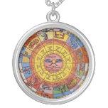 Astrologie céleste vintage, roue antique de bijouterie fantaisie