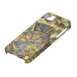 Astrologie céleste vintage, roue de zodiaque, 1555 étui iPhone 5