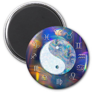 Astrologie cosmique Yin Yang de zodiaque de Aimant