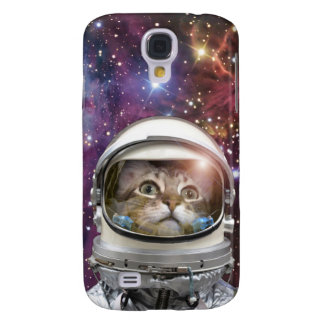 Astronaute de chat - chat fou - chat coque galaxy s4