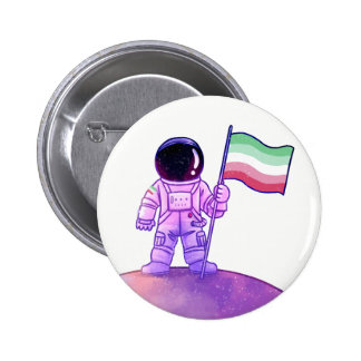 Astronaute de fierté [Abrosexual] Badges