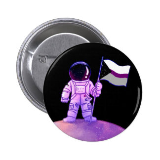 Astronaute de fierté [Demisexual] Badge