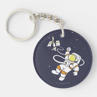 Astronaute Porte-clefs