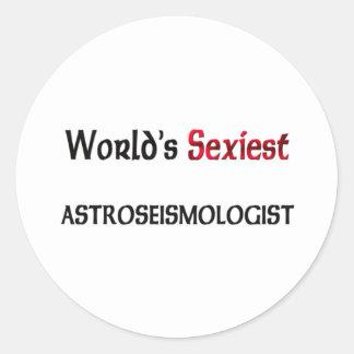 Astroseismologist le plus sexy du monde autocollants