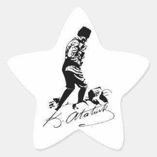 Ataturk Sticker Étoile