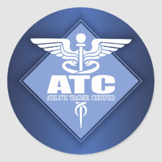 ATC de DAO (diamant) Sticker Rond
