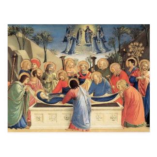 ATF Angelico- l enterrement de la Vierge Cartes Postales