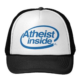 Athée à l'intérieur casquettes de camionneur