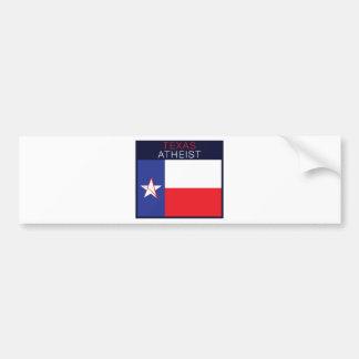 Athée du Texas Adhésif Pour Voiture