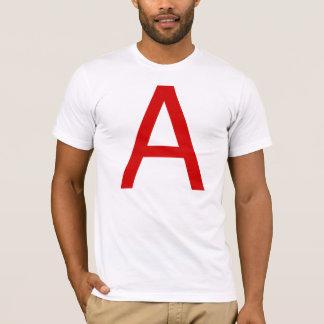 Athéisme dans helvetica (majuscule) t-shirt