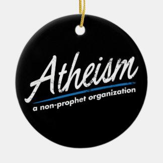 Athéisme : Une organisation de non-prophète Ornement De Noël