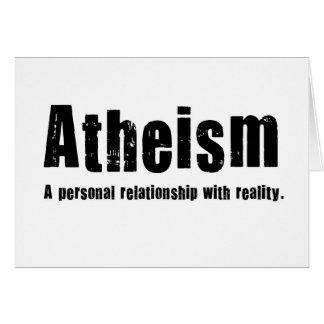 Athéisme. Une relation personnelle avec la réalité Cartes