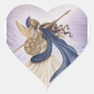Athéna Sticker Cœur