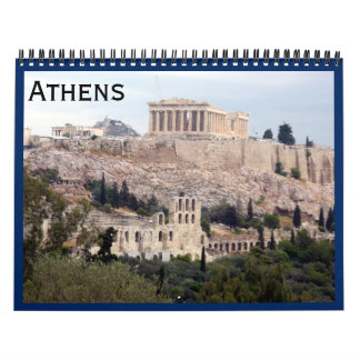 Athènes 2018 calendriers
