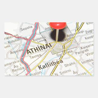 Athènes, Grèce Sticker Rectangulaire