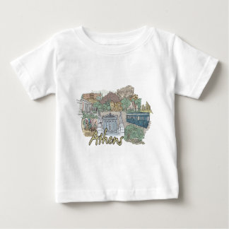 Athènes T-shirt Pour Bébé