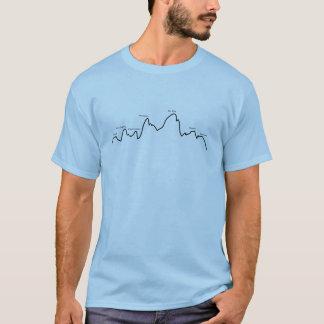 """Athlète par le T-shirt bien choisi """"d'horizon de"""