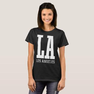 Athlétisme de base de Los Angeles de LA du T-shirt