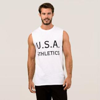 Athlétisme des Etats-Unis T-shirt Sans Manches