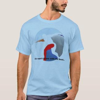 Athlétisme - jet avec le meilleur t-shirt