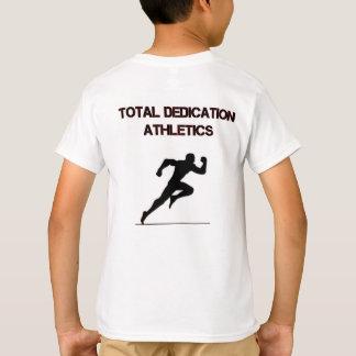 Athlétisme total de dévouement t-shirt