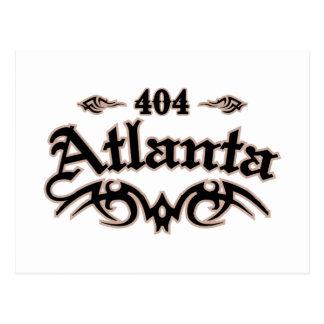Atlanta 404 carte postale
