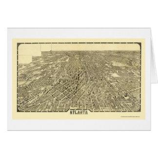 Atlanta, carte panoramique de GA - 1919