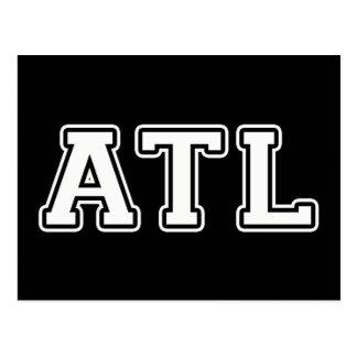 Atlanta la Géorgie Carte Postale