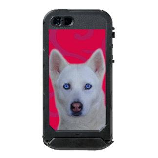 ATLAS blanc ID™ de l'iPhone SE/5/5s de chien de Coque iPhone 5 Incipio ATLAS ID™