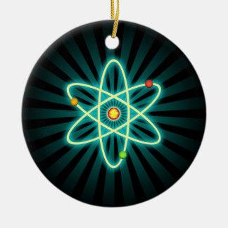Atome Ornement Rond En Céramique