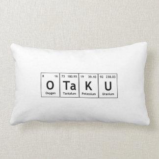 Atomes de chimie de mot d'éléments de Tableau Coussin Décoratif