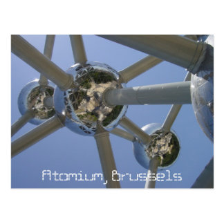 Atomium, carte postale de Bruxelles, Belgique