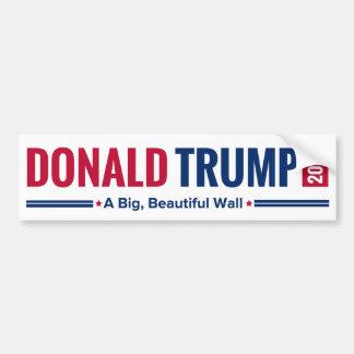 Atout 2016 - Un grand, beau mur ! Autocollant De Voiture