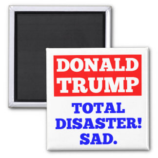 ATOUT = catastrophe totale ! Triste. Aimant blanc