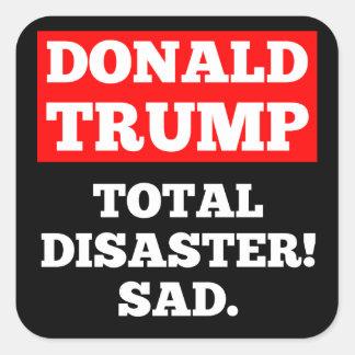 ATOUT = catastrophe totale ! Triste. Autocollant