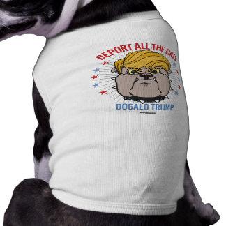 ATOUT DE DOGALD : Expulsez tous les chats T-shirt Pour Chien