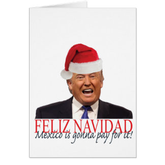 Atout. Feliz Navidad, Mexique va payer lui ! Carte De Vœux