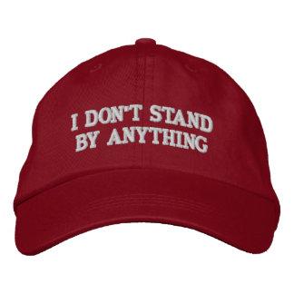 Atout - je ne me tiens prêt rien casquette brodée