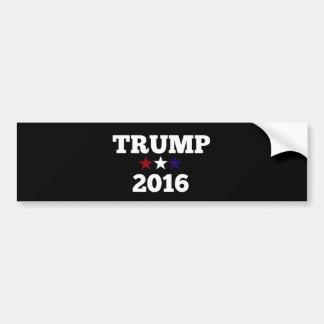 Atout pour le président 2016 autocollant pour voiture