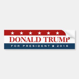 Atout pour le président 2016 blanc bleu rouge autocollant de voiture