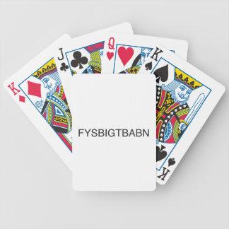 attachez vos ceintures de sécurité son aller être jeux de 52 cartes