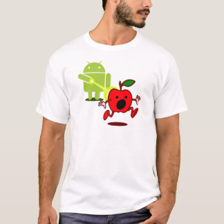 Attaque androïde ! t-shirt