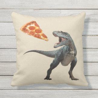 Attaque de Pizzasaurus Coussins Carrés