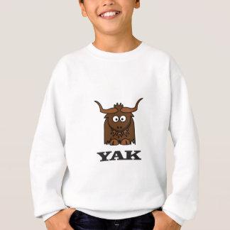 attaque de yaks sweatshirt