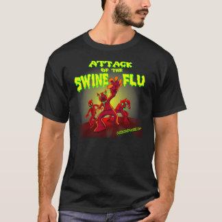Attaque du T-shirt de grippe de porcs