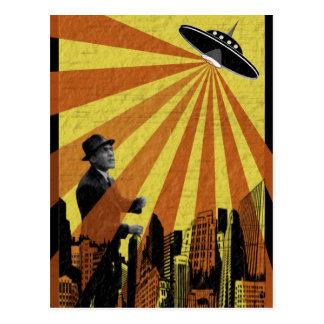 Attaque d'UFO Carte Postale