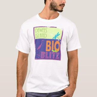 Attaque éclaire d'île de Dewees bio - T-shirt