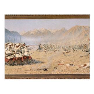 Attaque par surprise, 1871 carte postale